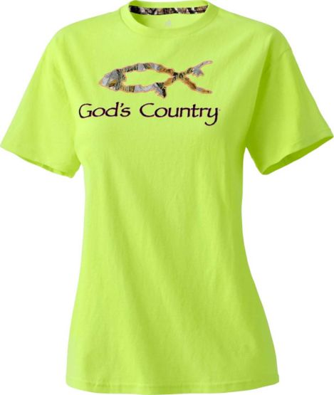 Ladies God's Country Late Season Harvester Tee at Legendary Whitetails