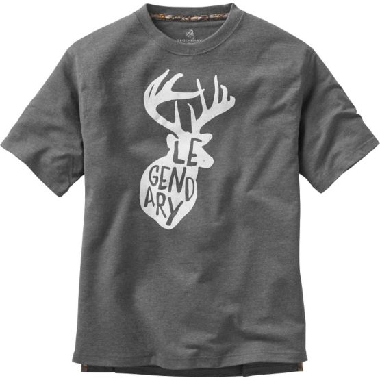 Men's Legendary Jordan Buck Short Sleeve T-Shirt at Legendary Whitetails