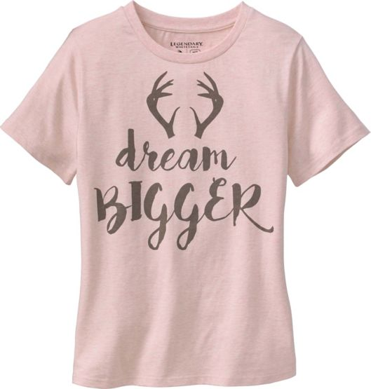 Ladies Huntin' Wish List Short Sleeve T-Shirt at Legendary Whitetails