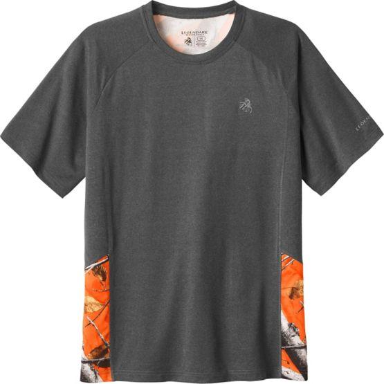 Men's Reflex Performance Big Game Camo T-Shirt at Legendary Whitetails