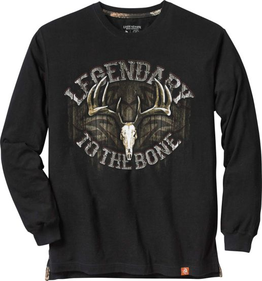 Men's Legendary to the Bone Long Sleeve T-Shirt at Legendary Whitetails