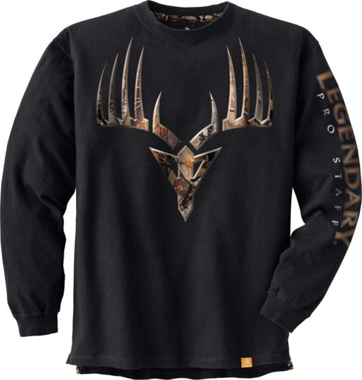 Men's Big Game Camo Broadhead Monster Tee at Legendary Whitetails