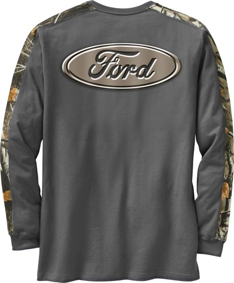 Men's Cross Country Camo Long Sleeve T-Shirt at Legendary Whitetails