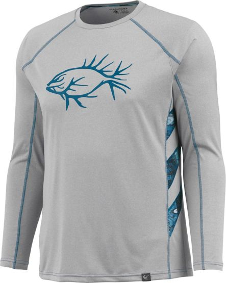 Men's Shawano Gills Performance Long Sleeve Tee at Legendary Whitetails