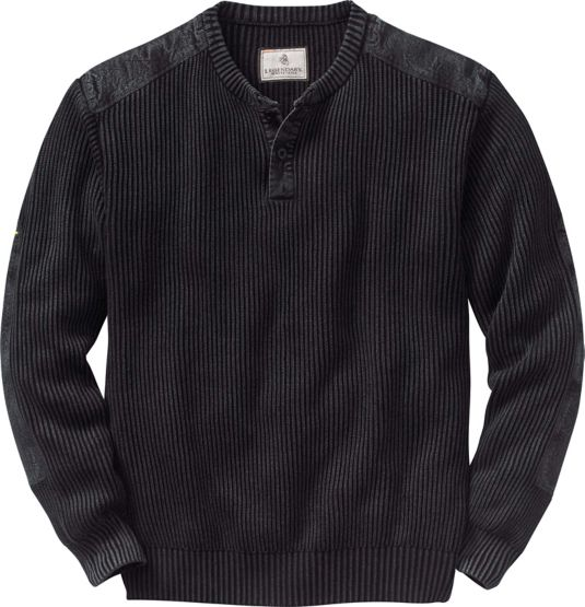 Men's Northern Lights Henley Sweater at Legendary Whitetails