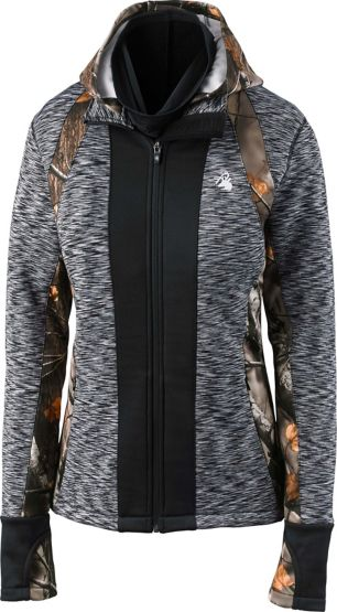 Women's Agility Full Zip Camo Performance Hoodie at Legendary Whitetails