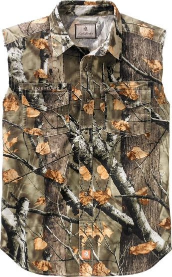 Men's Country Boy Big Game Camo Cut Off Shirt at Legendary Whitetails