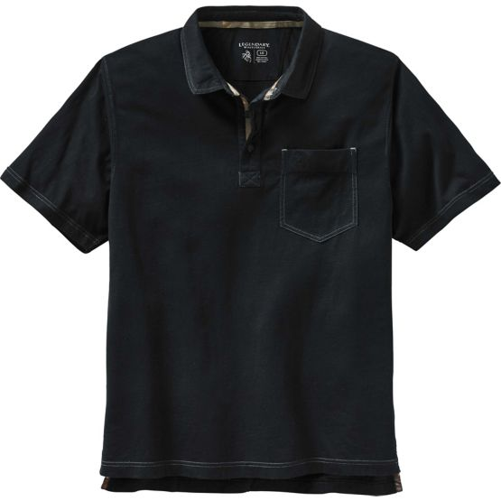 Men's Newport Pocket Polo Shirt at Legendary Whitetails