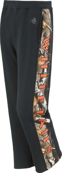 Boys Team Legendary Big Game Camo Sweatpants at Legendary Whitetails