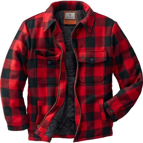 Men's Buffalo Plaid Outdoorsman Jacket at Legendary Whitetails