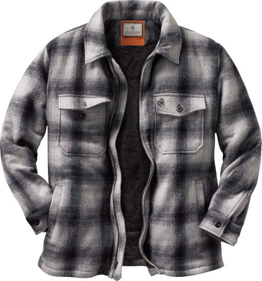 Men's Buffalo Plaid Outdoorsman Jacket at Legendary Whitetails