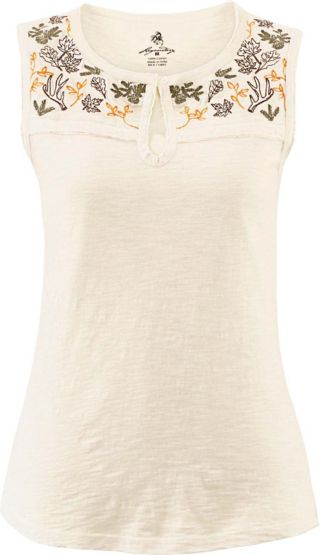 Women's Serenade Floral Print Sleeveless Top at Legendary Whitetails