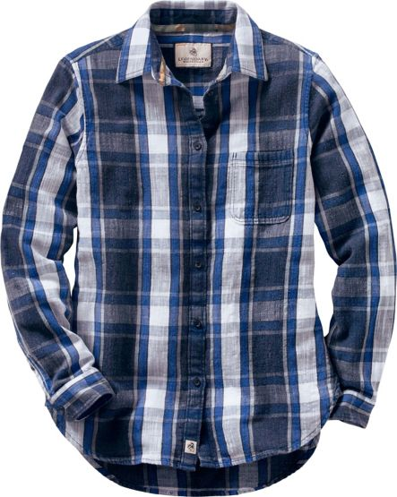 Ladies Sterling Ridge Plaid Shirt at Legendary Whitetails