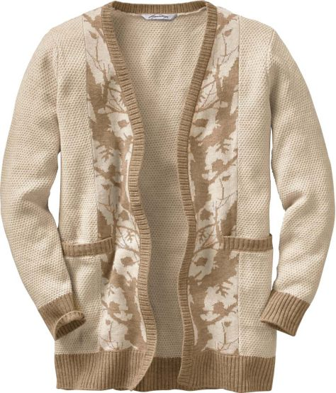 Women's Forest Camo Cardigan at Legendary Whitetails