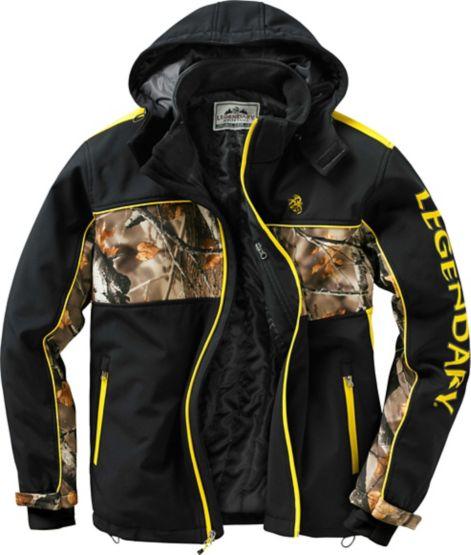 Men's Hunt Bum Trails End Camo Softshell Jacket at Legendary Whitetails