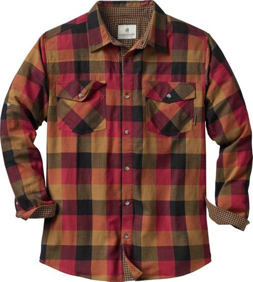 Men's Lumberyard Long Sleeve Button Down Shirt at Legendary Whitetails