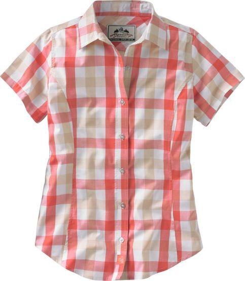 Women's Trailmaker Cotton Plaid Shirt at Legendary Whitetails