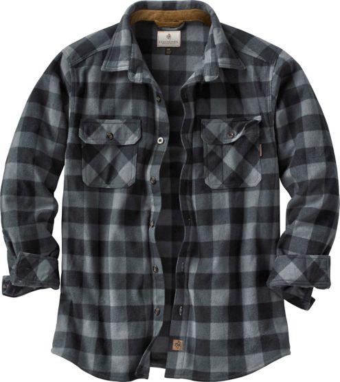 Men's Navigator Fleece Button Down Shirt at Legendary Whitetails
