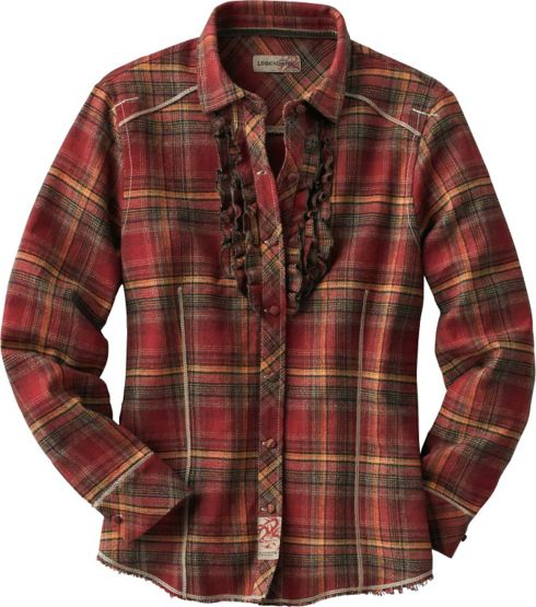 Women's Fox Trot Brushed Twill Button Down Shirt at Legendary Whitetails