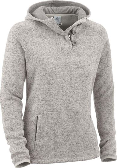 Ladies Atomic Fleece ¼  Zip Hoodie at Legendary Whitetails