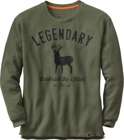 Men's Hunters Escape Long Sleeve Thermal Crew at Legendary Whitetails