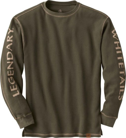 Men's Cruiser Waffle Knit Thermal at Legendary Whitetails