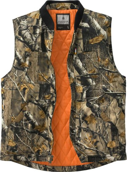 Men's  Canvas Cross Trail Concealed Carry Vest at Legendary Whitetails