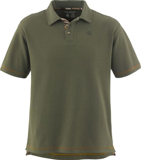 Men's Borderline Big Game Camo Pique Polo at Legendary Whitetails