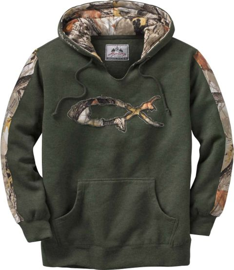 Women's God's Country Camo Outfitter Hoodie at Legendary Whitetails