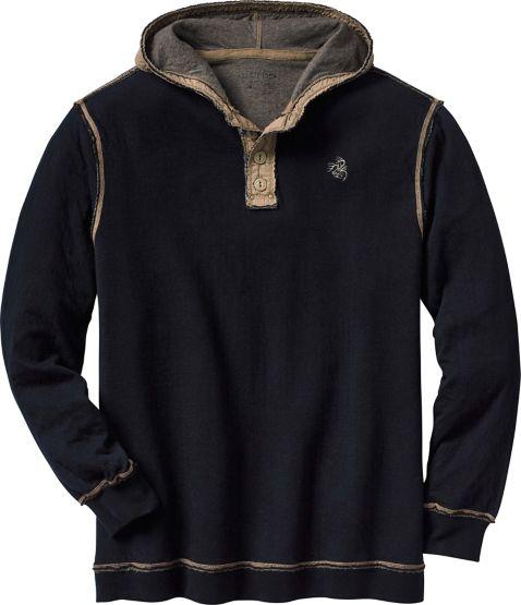 Men's Eliminator Hooded Pullover Henley at Legendary Whitetails
