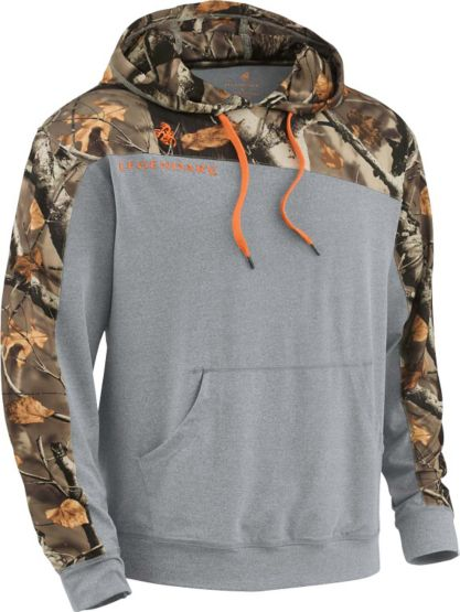 Men's Lightweight Descend Big Game Camo Hoodie at Legendary Whitetails