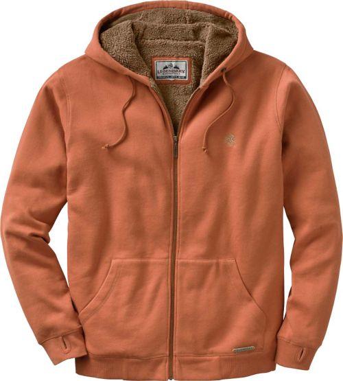 Men's Orange Sherpa Lined Highland Hoodie at Legendary Whitetails