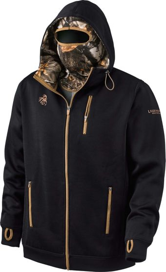Men's Double Time Hoodie w/ Built-In Balaclava at Legendary Whitetails