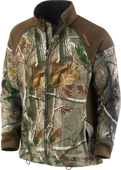 Men's Long Sleeve Camo Trail-Tek Full Zip Jacket at Legendary Whitetails