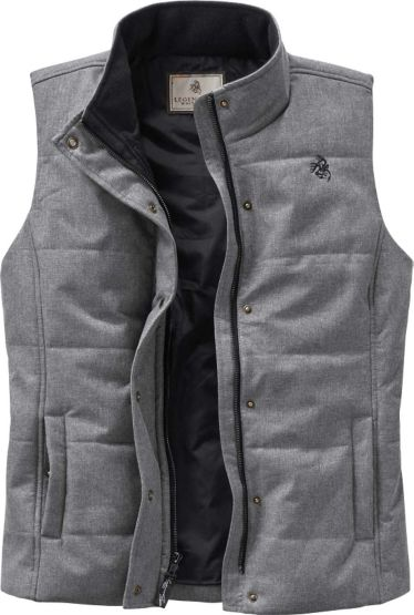 Ladies Vortex Lined Charcoal Vest at Legendary Whitetails