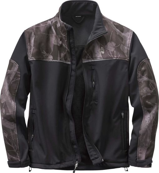 Men's Camo Hurricane Softshell Jacket at Legendary Whitetails
