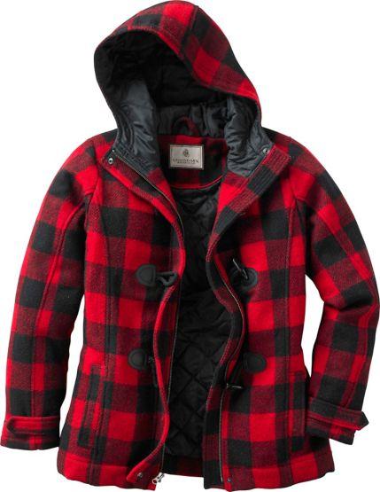 Ladies Dusty Trail Plaid Jacket at Legendary Whitetails