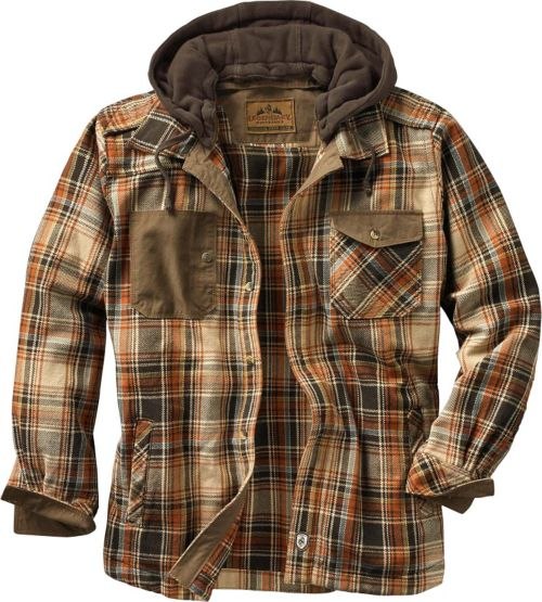 Men's Horizon Hooded Shirt Jacket at Legendary Whitetails