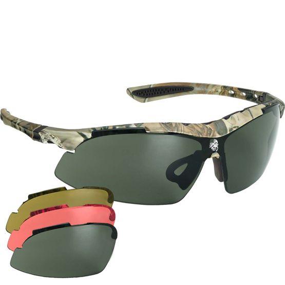 Men's Ultimate Hunter Multi-Lens Sunglasses Kit at Legendary Whitetails