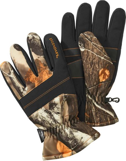 Men's Defender Big Game Camo Glove at Legendary Whitetails
