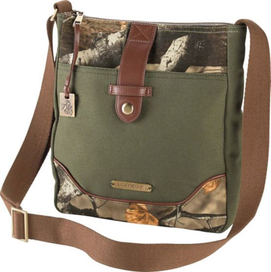 Women's Weekend Adventure Camo Cross Body Purse at Legendary Whitetails