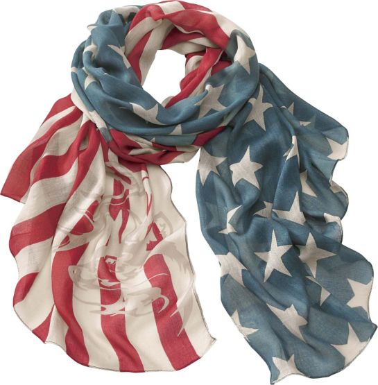 Americana Vintage Flag Scarf at Legendary Whitetails