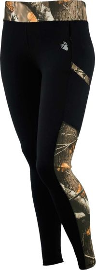 Ladies Driven Performance Big Game Camo Leggings at Legendary Whitetails