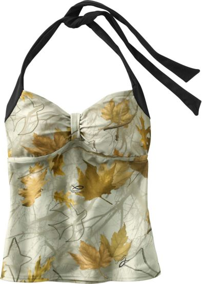 Women's God's Country Camo Halter Tankini at Legendary Whitetails