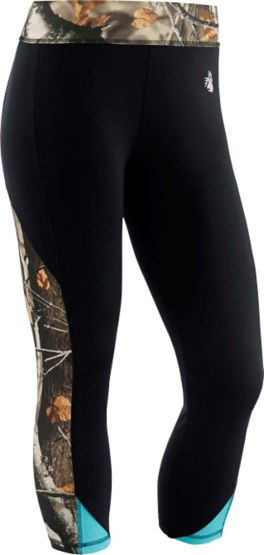 Women's Full Range Big Game Workout Capri Pants at Legendary Whitetails