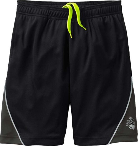 Men's Night Watcher Black Athletic Shorts at Legendary Whitetails