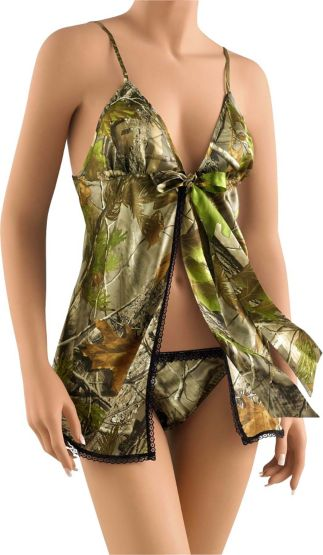 Women's Realtree Camo  Baby Doll Lingerie at Legendary Whitetails