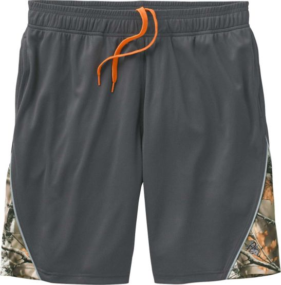Men's Night Watcher Big Game Camo Athletic Shorts at Legendary Whitetails
