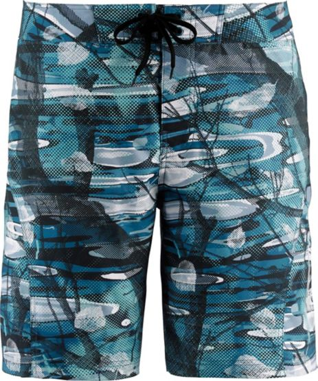 Men's Big Game Rapids Camo Board Shorts at Legendary Whitetails