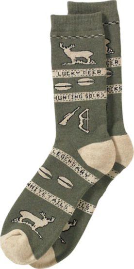 Men's Lucky Deer Hunting Socks at Legendary Whitetails